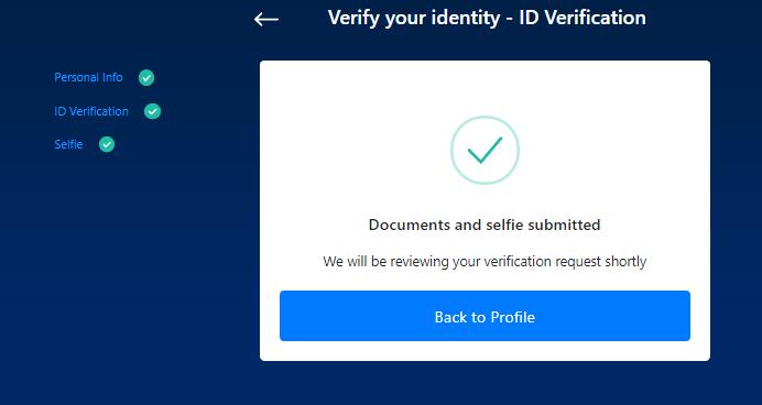 crypto-com verifica identita